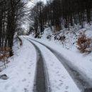 Pa sem mislil da po Istri ni nikoli snega...