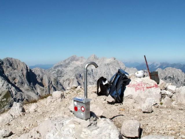 Prvi od štirih vrhov je osvojen!
