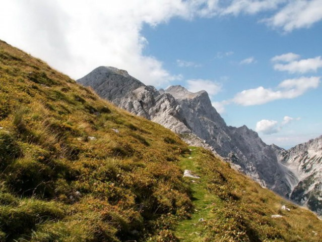 Preko pašnikov vrhu št. 4 nasproti - Turska gora