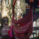 Medtem pa vilinec sladko spi v viseči mreži. Vilinska siesta.
