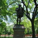 kipi angleskih pesnikov in pisateljev, Central Park