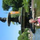B. Fountain, central park