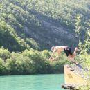 Jojo's diving lessons...
