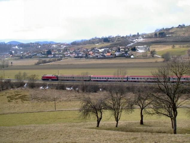 Vlak Pesnica 14.02.2009 - foto