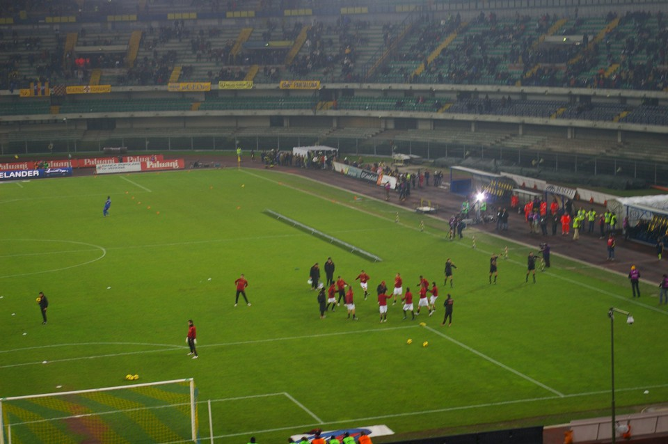 Chievo Verona vs. AS Roma (6.12.2008) - foto povečava
