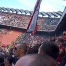 Curva je bila polna, več kot 10.000 Romanistov v pričakovanju slavja
