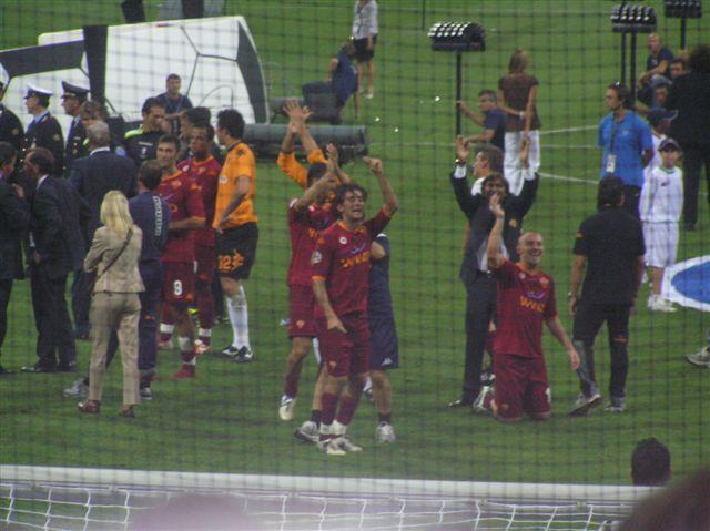 Inter - AS Roma (19.08.07) - foto