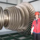 velika turbina za proizvodnjo elektrike iz pare