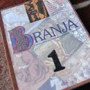 Branja 1, berilo in učbenik, ohranjeno, nekje označeno za učenje, 8€