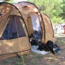 Pridno sem čuvala šotor:)