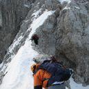 Zaradi pomankanja sne, je greben malo bolj oster kot ponavadi.
