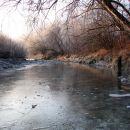 Blizu izliva potoka Idrija
