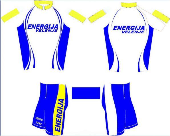 Kolesarski dres 2010