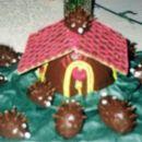 Hiška med ježki