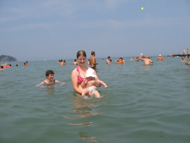Prvič sem na morju
