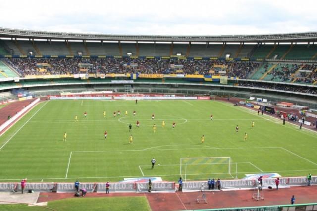 Stadium and the Chievo fans.