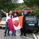 Our 1st stop near Trieste! Me, Marko & Viktor