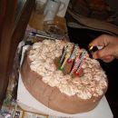 In torta za slavljenca