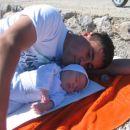 6.teden mark na plažici z očkom