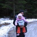 tako pa midva z atijem hodiva na izlete - januar 2007