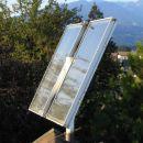 Kolektorja  že 10 let  zbirata sončno energijo.