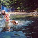 Evo mene i Tipice na kupanju :))