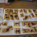 Takole pa sem za notranjost nalepila še nekaj končkov servietkov z živalskim motivom in ji