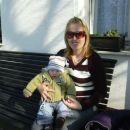 z mamico počivama na sončku