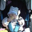 z mamico in atijem smo šli na sladoled ... no jaz sem dobil samo kornet :-)