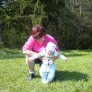 z mojo babi se učiva hodit :-)