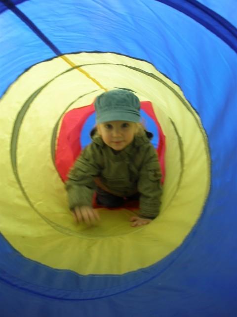 Ja v tunelčku ;)