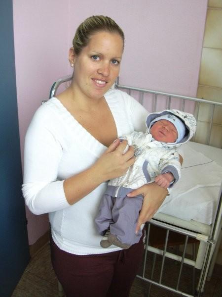Odhod iz porodnišnice 20.10.2007