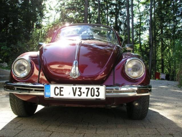 Moj VW 1303 cabrio - foto
