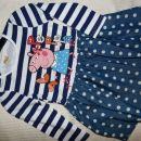 tunika oblekica pujsa pepa velikost za 3 do 4 leta