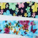 legice z metulji in rožami št 98/104
