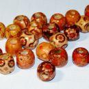 Lesene kroglice z motivi