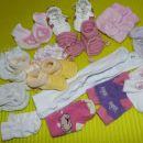 copatki, žabice in nogavičke za novorojenčka pa do št 74