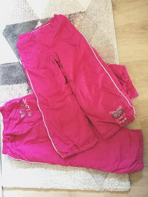 Podložene zimske hlače 116