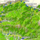 SAM 50km, trasa 2007, original narejen z GPS - iztok Boltez 2007