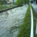 Poplava v Cerknem