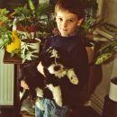 Moj najmlajši gospodar Blaž.